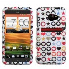 HTC EVO 4G LTE Vintage Punk Phone Protector Cover