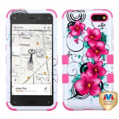 Amazon Amazon Fire Phone Morning Petunias/Electric Pink Hybrid Case