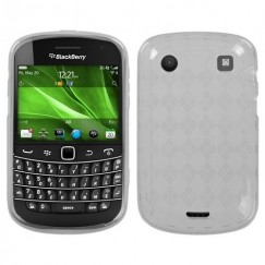 Blackberry 9900 Bold T-Clear Argyle Candy Skin Cover