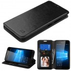 Nokia Lumia 650 Black Wallet with Tray