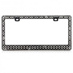 Starry Diamond License Plate Frame