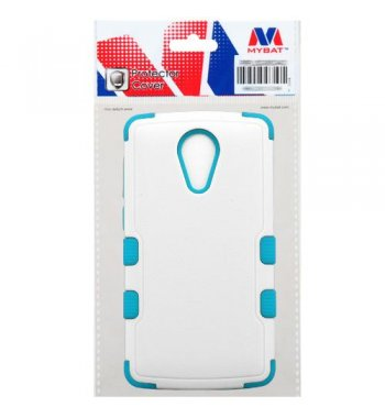 ZTE Uhura N817 Natural Ivory White/Tropical Teal Hybrid Case