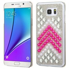 Samsung Galaxy Note 5 Herringbone Pearls Desire Back Case