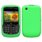 Blackberry 9300 Curve Solid Skin Cover (Dr Green)