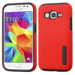 Samsung Galaxy Core Prime Red/Black Hybrid Case