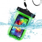 Universal Green Waterproof Bag (with Lanyard and Armband)