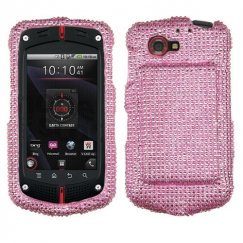 Casio GzOne Commando 4G LTE Pink Diamante Case