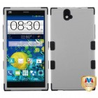 ZTE Grand X Max / Grand X Max Plus Natural Gray/Black Hybrid Case