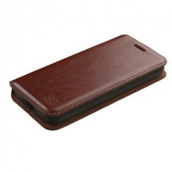 Alcatel Pixi 3 (4027A) Brown Wallet with Tray
