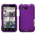 Motorola Defy Grape Case - Rubberized