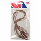 (5PCS)Coffee TPU Lanyard (17.75inch)