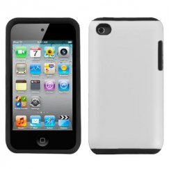 Apple iPod Touch (4th Generation) White Fusion Case - Rubberized