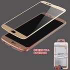 LG K10 Full Coverage Tempered Glass Screen Protector/Gold