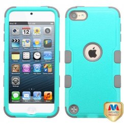 Apple iPod Touch (6th Generation) Natural Teal Green/Iron Gray Hybrid Case