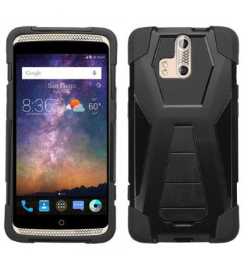ZTE Axon Pro Black Inverse Advanced Armor Stand Case