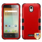 Alcatel One Touch Elevate Natural Red/Black Hybrid Case