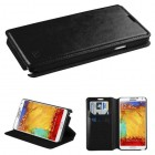 Samsung Galaxy Note 3 Black Wallet with Tray