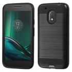 Motorola Moto G4 Play Black/Black Brushed Hybrid Case