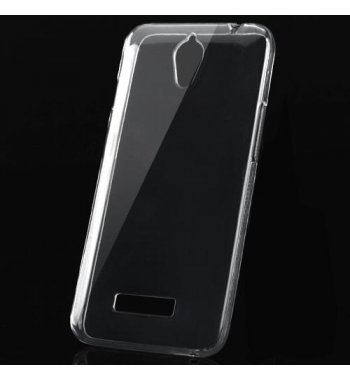 ZTE Obsidian Glossy Transparent Clear Candy Skin Cover