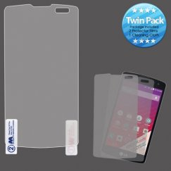 LG Tribute Screen Protector Twin Pack
