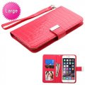 Universal Hot Pink Wallet with Wrist Lanyard
