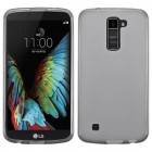 LG K10 Semi Transparent Smoke Candy Skin Cover (Rubberized)