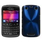Blackberry 9360 Curve Blue Cosmo Back Protector Cover