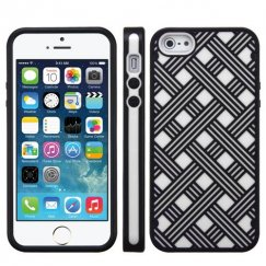 Apple iPhone SE White/Black CO-MOLDED Case