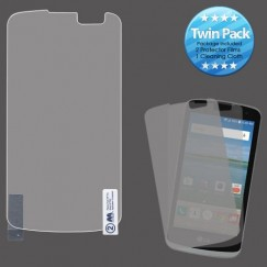 LG Optimus Zone 3 / Spree Screen Protector Twin Pack