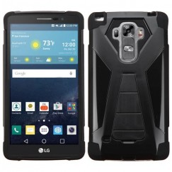 LG G Vista 2 Black Inverse Advanced Armor Stand Case