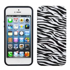 Apple iPhone 5c Zebra Skin Candy Skin Cover