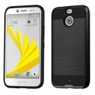 HTC Bolt Black/Black Brushed Hybrid Case