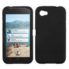 HTC First Solid Skin Cover - Black