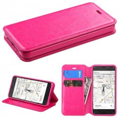 Amazon Amazon Fire Phone Hot Pink Wallet with Tray