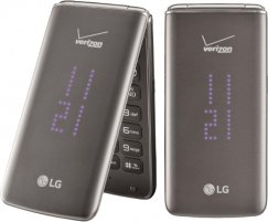 LG Exalt II VN370 Flip Phone for Verizon Wireless - Black