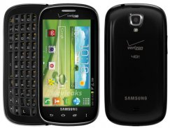 Samsung Galaxy Stratosphere 2 8GB Android Smartphone for Verizon - Black