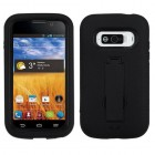 ZTE Imperial Black/Black Symbiosis Stand Case