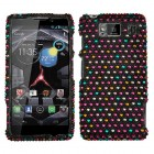 Motorola Droid RAZR HD Sprinkle Dots Diamante Case