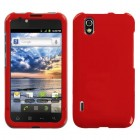 LG Marquee Solid Flaming Red Phone Protector Cover