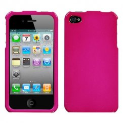 Apple iPhone 4/4s Solid Hot Pink Case