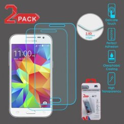Samsung Galaxy Core Prime Tempered Glass Screen Protector - 2-pack
