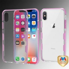 Transparent Clear/Pink Bumper Guard Candy Skin Cover