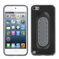 Apple iPod Touch (5th Generation) Black Snap Tail Stand Case