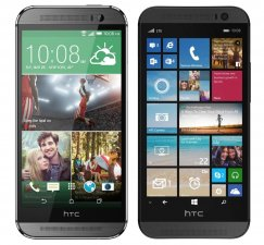 HTC One M8 32GB Windows 8.1 Smartphone for Verizon - Gray