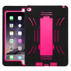 AppleiPad Air 2nd Gen Hot Pink/Black Symbiosis Stand Case