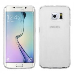 Samsung Galaxy S6 Edge Glossy Transparent Clear Candy Skin Cover
