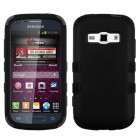 Samsung Galaxy Ring Rubberized Black/Black Hybrid Phone Protector Cover