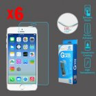 Apple iPhone 6 Tempered Glass Screen Protector (2.5D)(6-pack)
