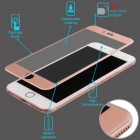 Apple iPhone 6/6s 3D Curved Edge Titanium Alloy Tempered Glass Screen Protector/Rose Gold