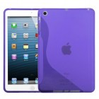 AppleiPad Mini 3rd Gen Purple (S Shape) Candy Skin Cover